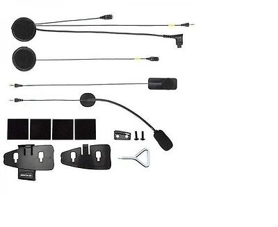 XIT F2-F3-F4-F4s Kit Audio Interphone Cellularline auricolare e doppio microfono