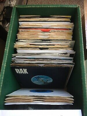 Singles Lot Glam Pop Chart 1970s Played Fine 76 In Total Mud Sweet Slade Trex VG