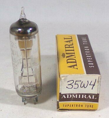 Admiral 35W4-HY90 Half Wave Vacuum Rectifier Power Tube