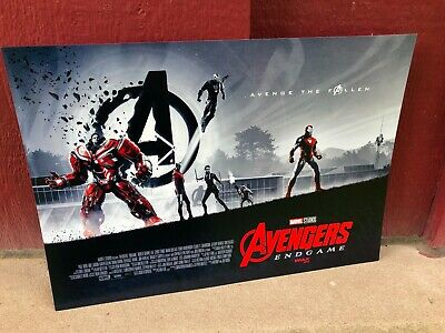 "AVENGERS ENDGAME AMC IMAX EXCLUSIVE movie POSTER 11"" x 15.5"" (poster #2)"