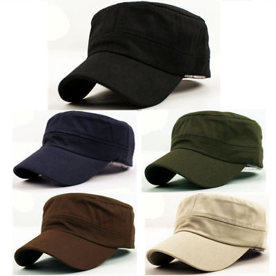 Army Cadet Military Hat Baseball Cap Men Women Summer Outdoor Plain Camo Caps