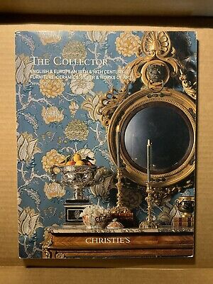Christie's The Collector New York April 9 2019 Silver Furniture Auction Catalog