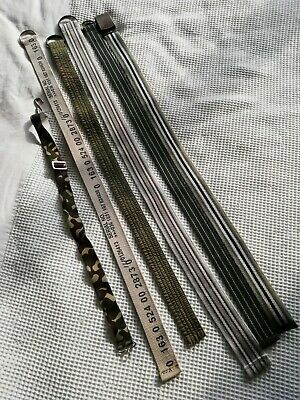 Lot of 6 boys belts approx. age 4 years NEXT/Adams good condition