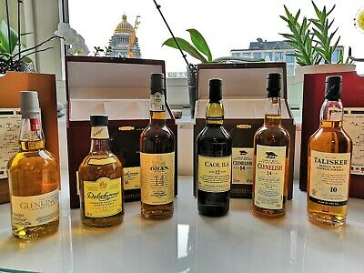 The Classic Malts Collection, 6x 20cl Single Malt Scotch whisky