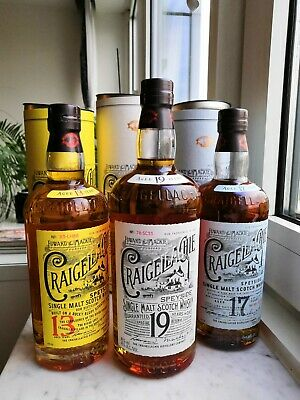 Whisky Craigellachie 13, 17 and 19 - 6 bottles