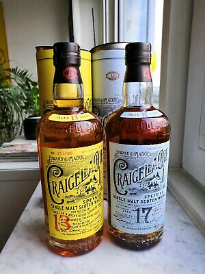 Whisky Craigellachie 13 and 17 years old - 2 bottles