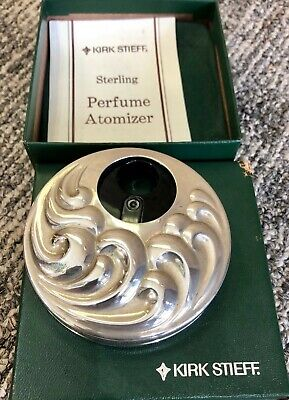Kirk Stieff Sterling Silver Perfume Atomizer NEVER been used with original box