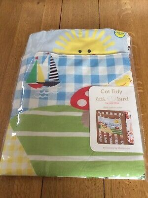 Brand New Mothercare Little Bird Cot Tidy