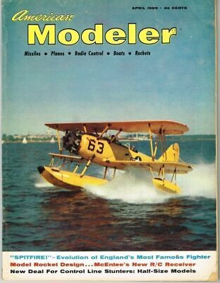 AMERICAN MODELER Magazine April 1959 Mig-3: C/L Scale by Walter Musciano