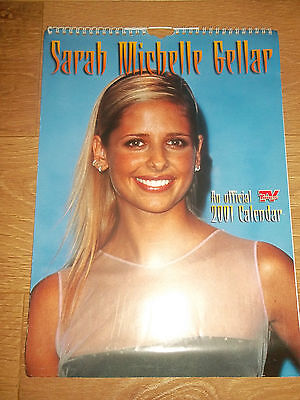 Collectable Sarah Michelle Gellar 2001 Calendar