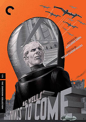 Things to Come (DVD, 2013, Criterion Collection)