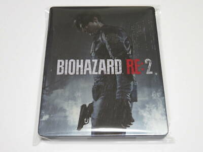 Resident Evil Re:2 Steel book only Biohazard Re:2 GEO LIMITED PS4 Japan