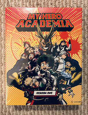 My Hero Academia First Season 1 One (Blu-ray/DVD 5-Disc Set Limited Edition) NEW