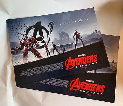 "AVENGERS ENDGAME AMC IMAX EXCLUSIVE POSTERS 11"" x 15.5"""