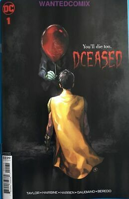 Dceased 1 (Of 6) Putri Horror Variant Cover Stephen King It Pennywise Comic Book