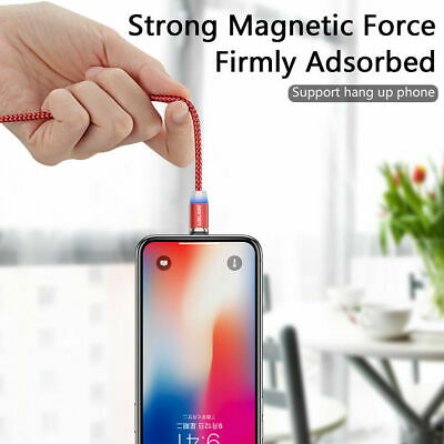 Magnetic Type-C Micro USB Cable Fast Charging Charger Cable For Huawei Samsung H