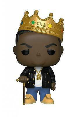 Funko Pop Rocks: Music - Notorious B.I.G. with Crown Collectible, Multicolor