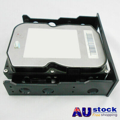 AU Universal Front Bay Hard Drive 3.5'' To 5.25'' Mount Adapter Bracket Plastic