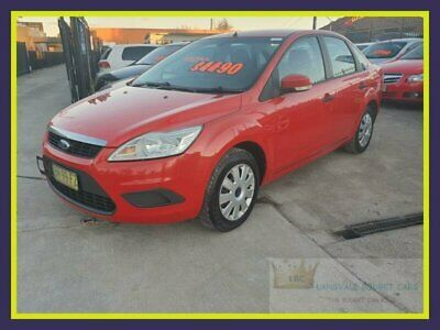 2010 Ford Focus LV CL Red Automatic 4sp A Hatchback