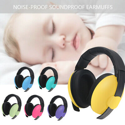 Kids Girls Boys Ear Defenders Baby Noise Cancelling Headset Headphone Safety UK