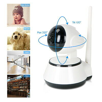 Outdoor Wireless 720P Pan Tilt Network Home CCTV IP Camera IR Night Vision WiFi