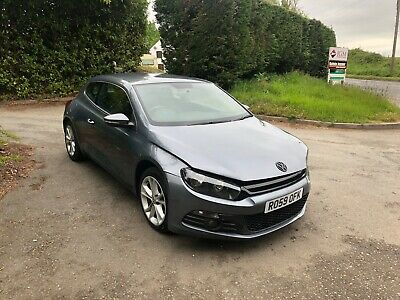 2009 Vw Scirocco Gt Damaged Repairable Salvage