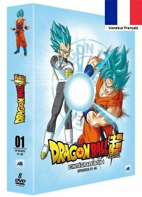 DVD Dragon Ball Super l'Integral Box 1 Episodes 1-46 Série d'Animation TOEI Neuf