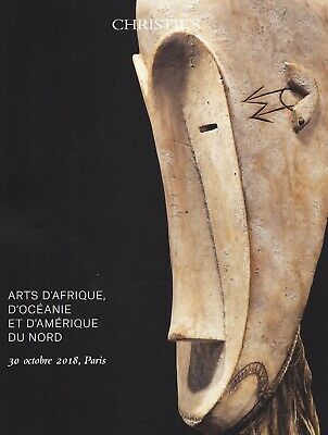 TRIBAL ART: AFRIKA, OZEANIEN, NORD-AMERIKA:  Christie's Paris 18 +results