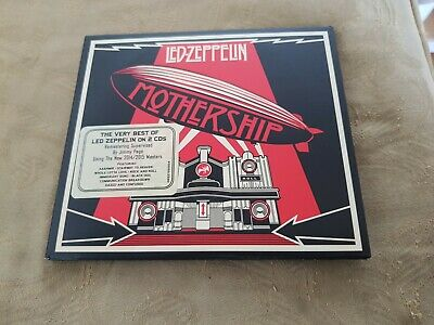 LED ZEPPELIN MOTHERSHIP BEST OF 2CD SET (Greatest Hits) (2014/2015 Remasters)