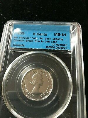 1963  Hanging 3 CCCS graded MS64