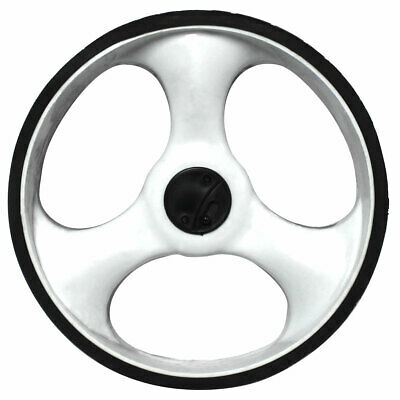 Charles Bentley Golf Trolley Spare Replacement Left Wheel in White