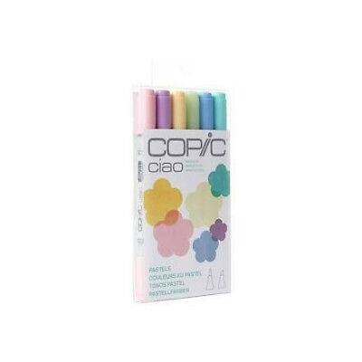 NEW! 🖌️ COPIC CIAO Pastels Markers Dual Refillable Japan J2