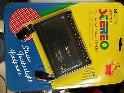Vintage GPX Stereo AM/FM Personal Radio A2845