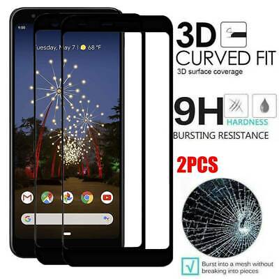 Premium For Google Pixel 3a XL 3D Tempered Glass Genuine Screen Protector Film