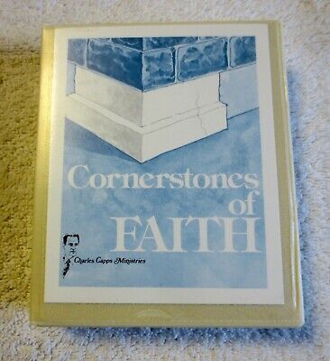 Cornerstones Of Faith By Charles Capps (Audiocassette, 4-Tape Series)