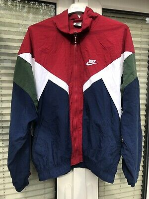 """M Nike Vintage shell Track suit jacket retro sports Ch 37-43"""""""