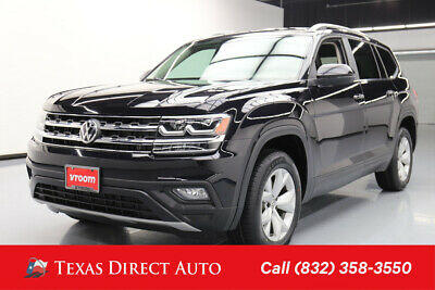 2018 Volkswagen Atlas V6 SE Texas Direct Auto 2018 V6 SE Used 3.6L V6 24V Automatic FWD SUV