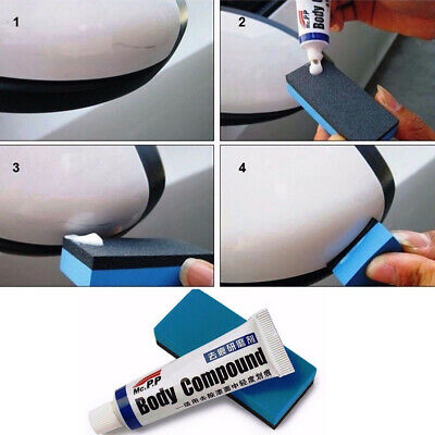 1x Car Scratch Paint Care Body Compound Polishing Scratching Paste Repair Wax