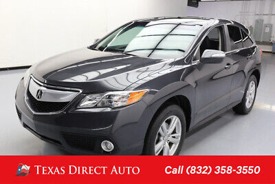 2014 Acura RDX Tech Pkg Texas Direct Auto 2014 Tech Pkg Used 3.5L V6 24V Automatic FWD SUV Premium