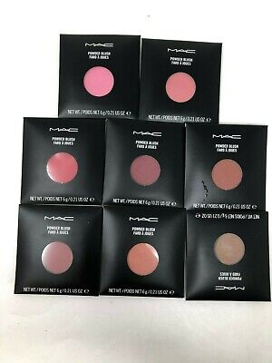 MAC Cosmetics Powder Blush Refill  6g 0.21oz ~Choose Color~ New & Free Shipping!