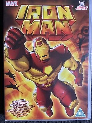 Iron Man (DVD, 2008) Marvel Avengers. 3 Hours Of Classic Action & Adventure