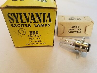 Lot de 7 Sylvania Brx Projecteur Exciter Lampes Son Reproducer Ampoules