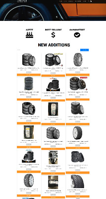 Car Tyres Uk Website With New Domain + Hosting  - Ecommerce At Home