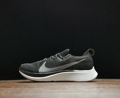 buy popular 0162d a397d Nike ZOOM FLY FLYKNIT Men s Running Shoe AR4561 Black Gunsmoke size 15