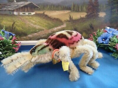 STEIFF 2322.00 large Spider Spidy 22 cm with Button Flag Chesttag only 1960-61