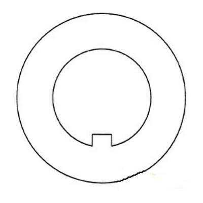 881384M1 Front Spindle Washer for Massey Ferguson 20000 2110 2120 2150 231 250