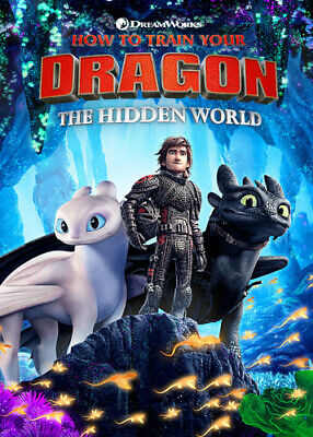How To Train Your Dragon: Hidden World (DVD New)