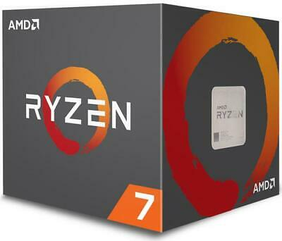 AMD Ryzen 7 2700, 8 Cores AM4 CPU, 4.1GHz 20MB 65W w/Wraith Spire LED Cooler Fan
