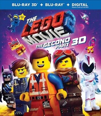 The Lego Movie 2: The Second Part 3D BLU RAY