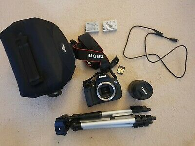 Canon  EOS 650D 18.0 MP Digital SLR Camera with IS II 18-55mm Lens - Black